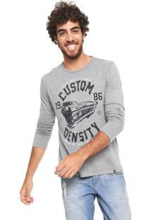 Camiseta Hering Custom Density Cinza