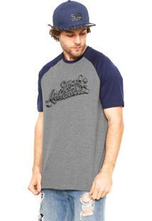Camiseta Mcd Authentic Cinza/Azul