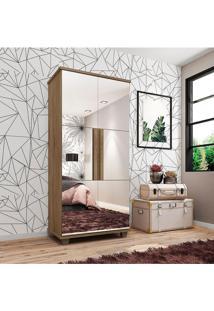 Sapateira Requinte Com Espelho E 5 Partes Marrom - Marrom - Dafiti