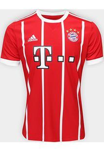 Camisa Bayern De Munique Home 17/18 S/Nº Torcedor Adidas Masculina - Masculino