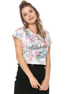 Blusa Cropped Billabong Summer Off White