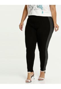 Calça Feminina Legging Recorte Plus Size Marisa