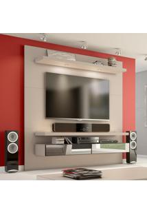 Painel Para Tv 180 Fendi Com Espelho Tb107E - Dalla Costa