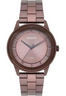 Relógio Orient Feminino Unique Analógico - Feminino-Marrom
