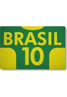 Tapete Capacho Brasil 10 - Verde Bandeira