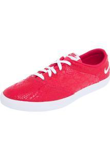 Tênis Nike Sportswear W Mini Sneaker Lace Print Vermelho