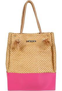 Bolsa Petite Jolie Shopper Wind Feminina - Feminino-Pink
