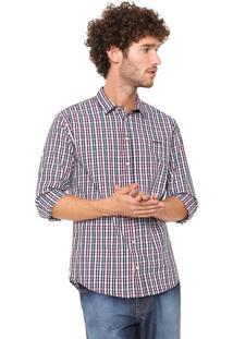 Camisa Sommer Xadrez Vinho