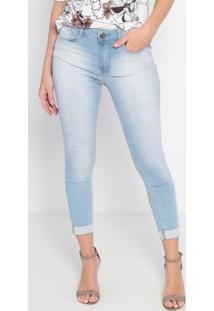Jeans Skinny Estonado- Azul Claro- My Favorite Thingmy Favorite Things