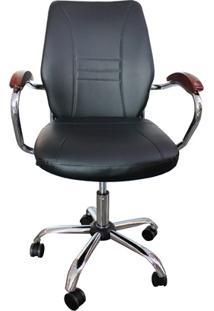 Cadeira Para Escritório Executiva Stella 100X60Cm Preta