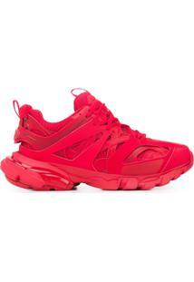 Balenciaga Track Low-Top Sneakers - Vermelho
