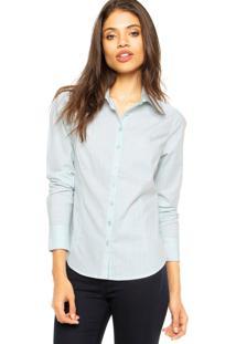Camisa Malwee Listras Azul