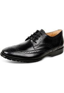 Sapato Sandro Moscoloni Forge Oxford-Preto
