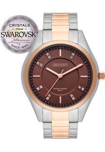 Relógio Orient Feminino Swarovski Ftss0055M1Sr