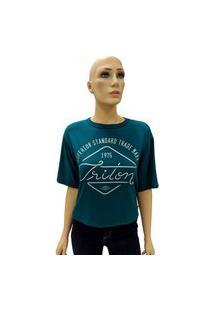 T-Shirt Triton Estampa 1975 Verde Tam. M