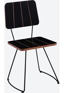 Cadeira Costela Preto