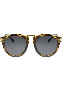 Óculos Ray Flector Piccadilly Circus Vgt512Co Onça/Marrom
