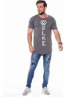 Camiseta Oversized Básica New Grafitte