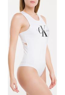 Body Ckj Fem Sleeveless - Branco 2 - Pp