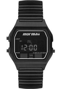 Relógio Mormaii Feminino Vintage Mojh02Aw/4P - Feminino-Preto