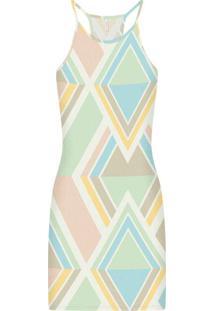 Vestido Malha Canelado Wave Curto Prisma - Lez A Lez