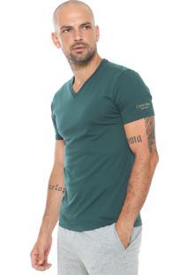 Camiseta Calvin Klein Lisa Verde