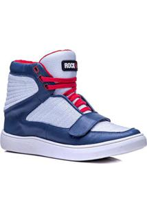 092b439efe5bd R$ 289,90. Netshoes Tênis Cano Alto Rockfit Red Hot Em Couro Feminino ...