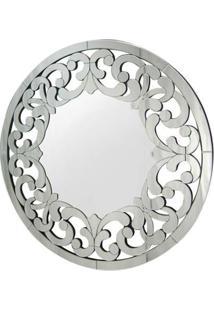 Espelho Pieta- Espelhado & Cinza- Ø90Cmrivatti