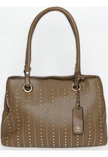 52b2f1953 Bolsa Cinza Ilhos feminina | Shoelover