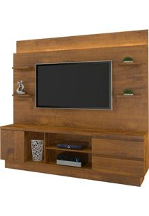 "Estante Home New Buran Para Tv Até 60"" Nobre Soft"