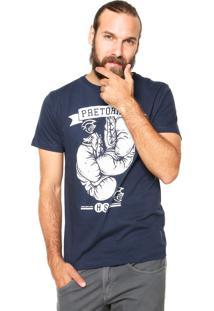 Camiseta Pretorian Gloves Azul Marinho