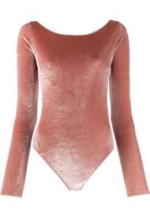 Oseree Body Slim Com Abertura Posterior - Rosa