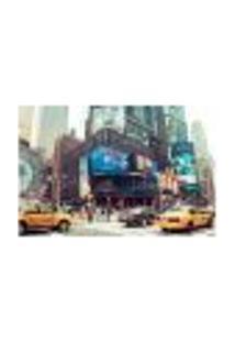 Painel Adesivo De Parede - Times Square - Nova Iorque - 711Pnm