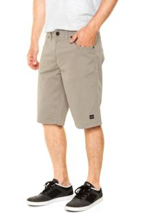 Bermuda Sarja Oakley Essential 5 Pockets Cinza