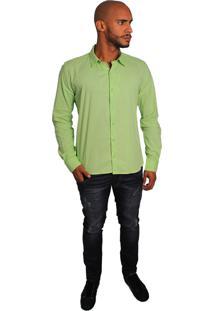 Camisa Social Joss Colors Verde