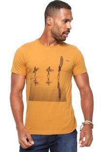 Camiseta Redley Mood Caramelo