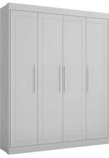 Guarda-Roupa Infantil Moka 4 Pt 3 Gv Branco
