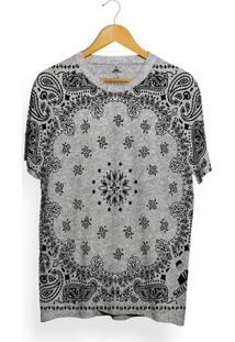 Camiseta Skill Head Full Print Bandana - Masculino