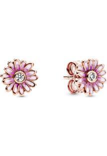 Brinco Pandora Rose™ Margaridas Pink - 28 Cm