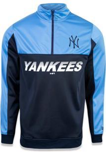Jaqueta New Era Track New York Yankees Marinho/Azul