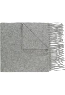 Paul Smith Cachecol De Cashmere - Cinza