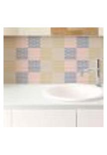 Papel De Parede Autocolante Rolo 0,58 X 5M - Azulejo Abstrato 285997286