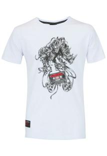 Camiseta Ecko Estampada E256A - Masculina - Branco