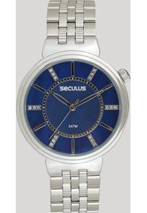 15dae046656 Relógio Analógico Aco Seculus feminino