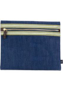 Lardini Clutch Jeans - Azul