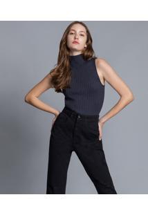 Calça Jeans Mommy Preto Reativo - Lez A Lez