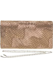 Bolsa Feminina De Mão Melamel - Fs2 Ouro