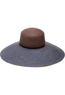 The Freya Brand Wide-Brimmed Hat - Marrom