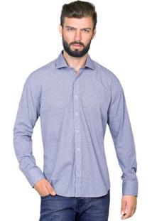 Camisa Hugo Rossi Micro Listra - Masculino