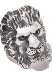 The Great Frog Lion Ring - Silver